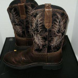 Ariat Sahara Mens Work Boots Size 10.5 D P40